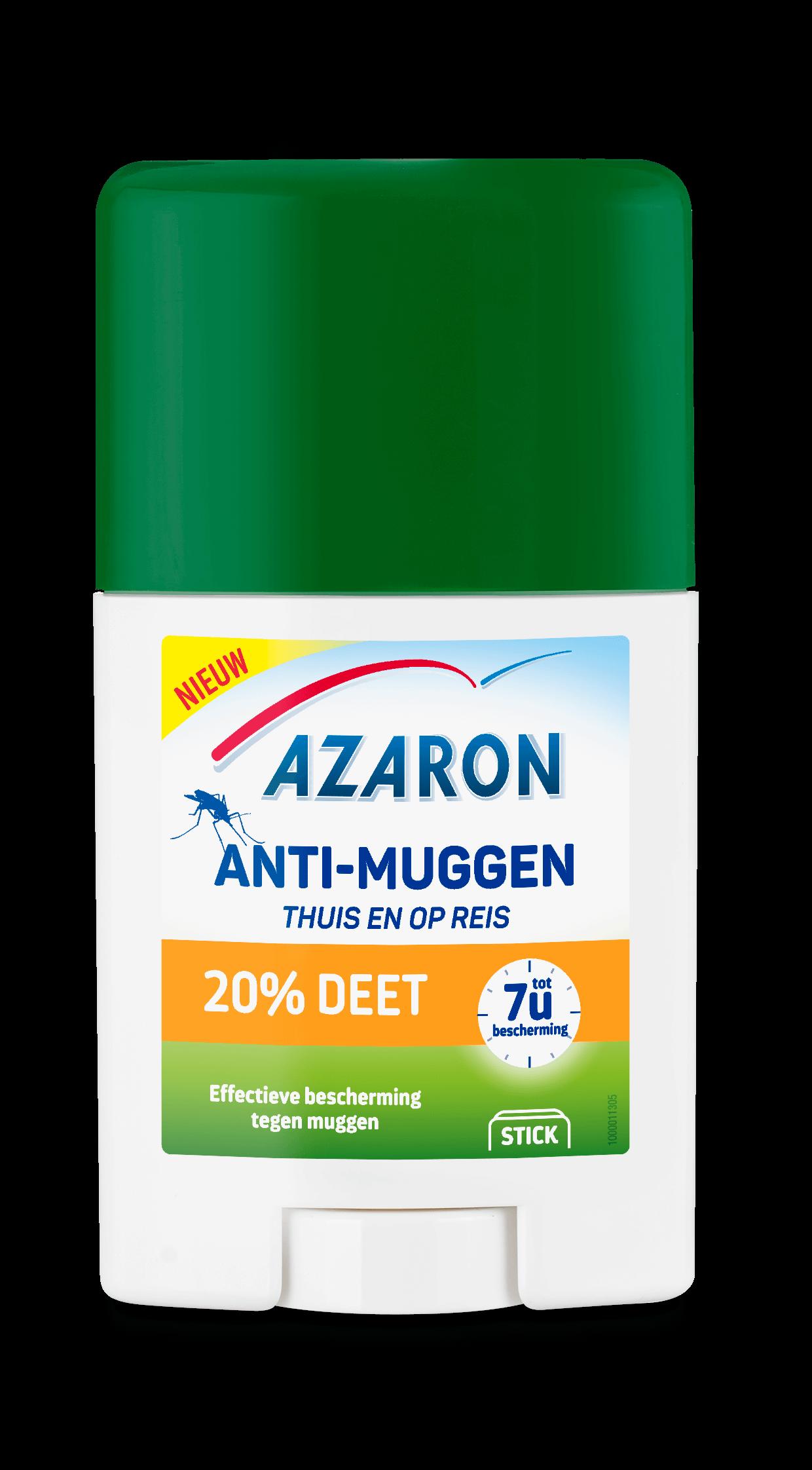 Azaron Anti-Muggen 20% Deet Stick<sup>3</sup>